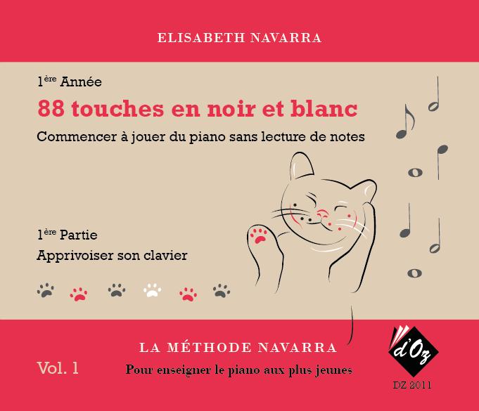 La méthode Navarra - Piano - Volume 1