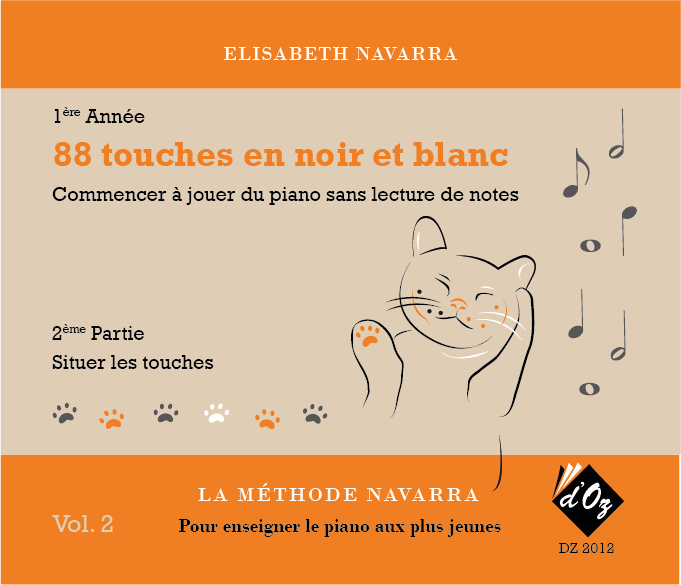 La méthode Navarra - Piano - Volume 2