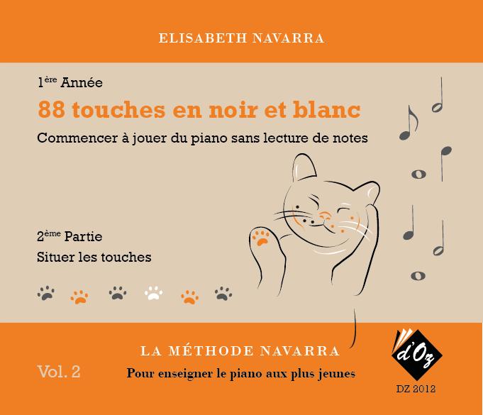 La méthode Navarra - Piano - Volume 2