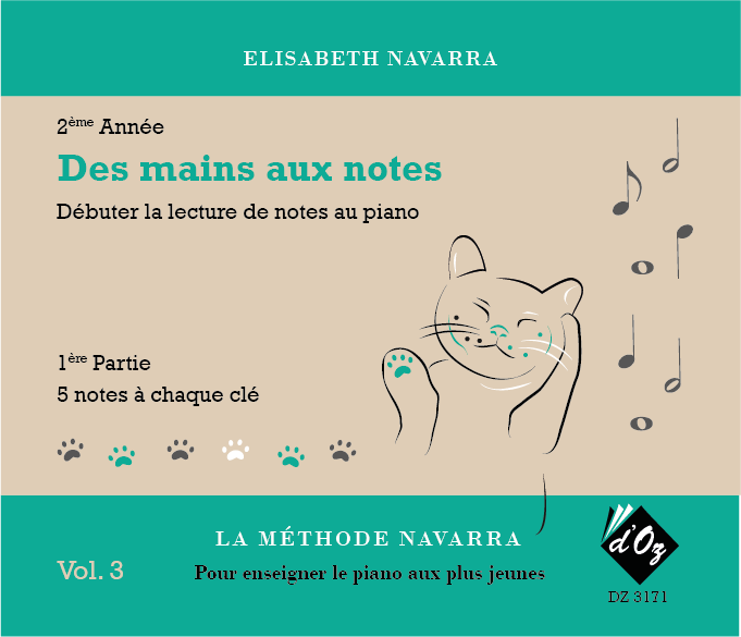 La méthode Navarra - Piano - Volume 3