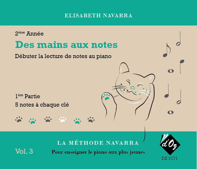La méthode Navarra - Piano - Volume 3