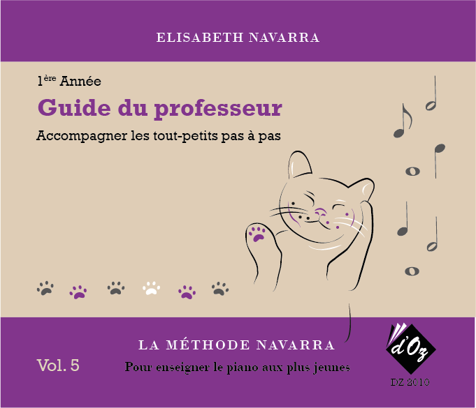 La méthode Navarra - Piano - Volume 5
