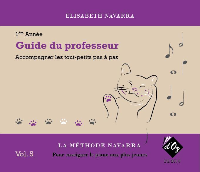 La méthode Navarra - Piano - Volume 5