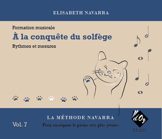 La méthode Navarra – Solfège – Volume 7